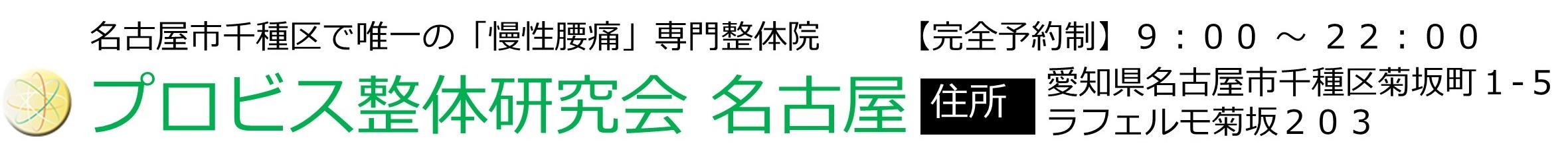 プロビス整体研究会 名古屋